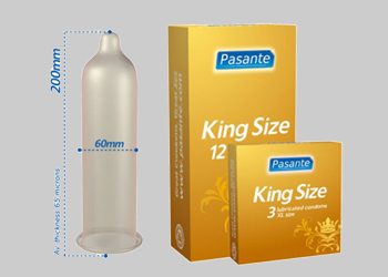 X large & Large Condoms